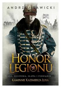 książka z historią w tle - Honor Legionu