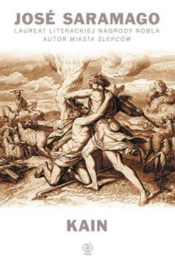 "okładka książki ""Kain"" J. Saramago"