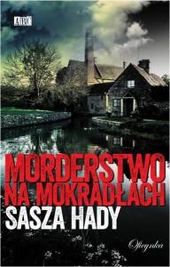 """okładka książki """"Morderstwo na mokradłach"""""""
