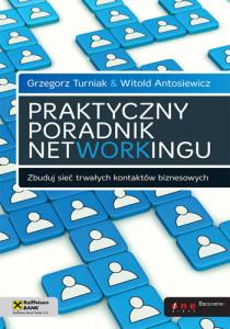 """okładka książki """"Praktyczny poradnik networkingu"""""""