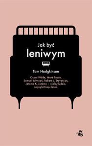 """okładka książki """"Jak być leniwym"""""""