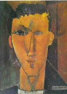 Raymond Radiguet - obraz Modiglianiego