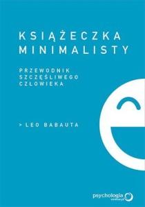 """okładka """"Książeczka minimalisty"""""""