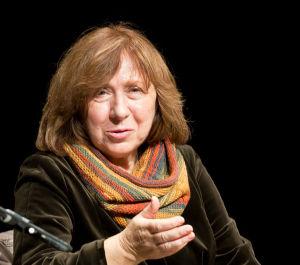 Svetlana Alexievich, a Belarusian investigative journalist and prose writer