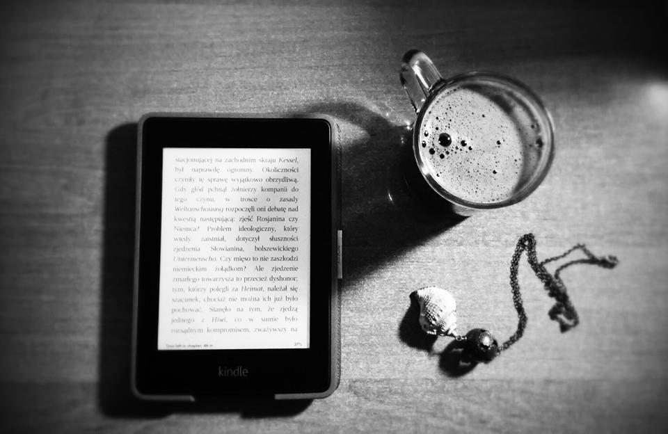 Kindle i kawa