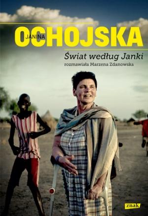 """okładka książki """"Świat według Janki"""""""