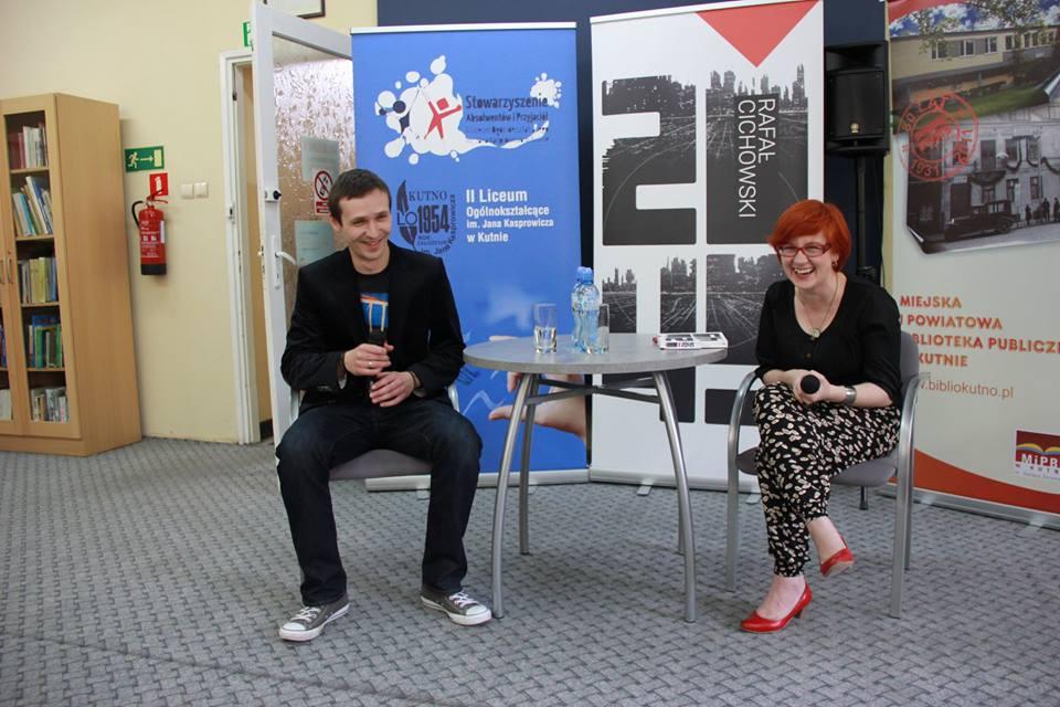 Spotkanie z Rafałem Cichowskim
