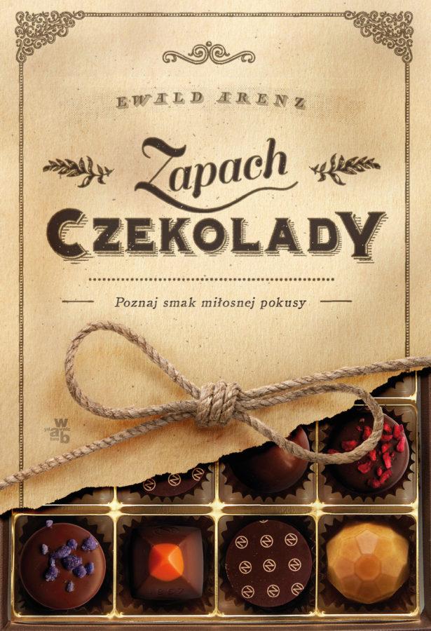 Zapach czekolady - okładka książki