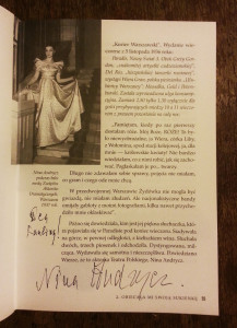 Nina Andrycz autograf